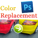 Color Replacement with Adobe Photoshop