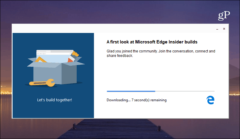 Installing Edge Chromium Windows 10