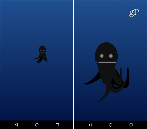 android oreo octopus easter egg