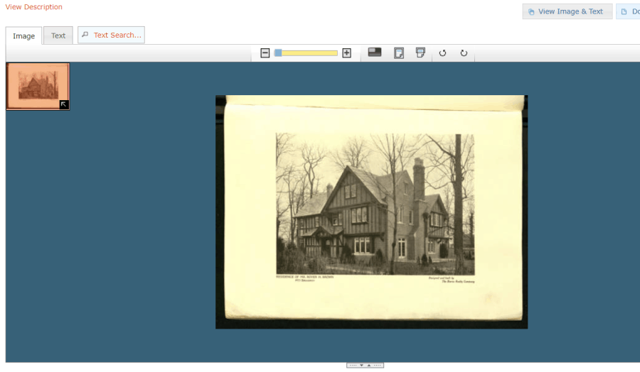 a historic digitized book
