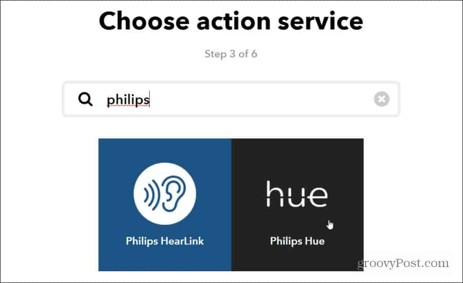 philips hue action