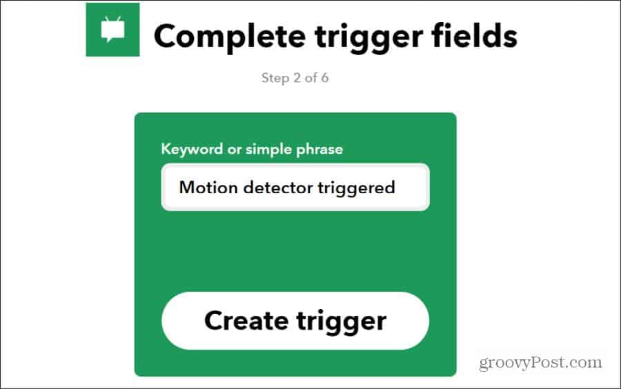 android sms trigger