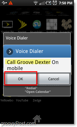 make phone calls by voice on android phone