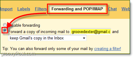 forward mail from your permanent proxy spam box to your real email address without risking your privacy.