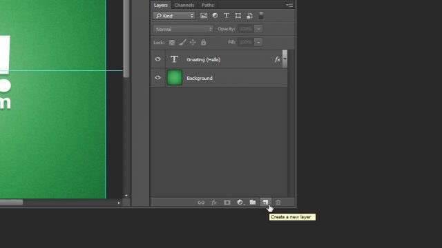 Cheat Photoshop Text Layer Transformations Trick new layer alt click layers panel Photoshop