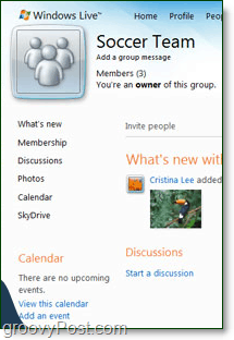 office online groups need discussions